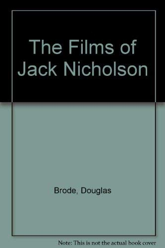 9780862874179: The Films of Jack Nicholson