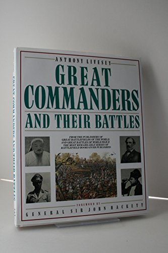9780862881221: Great Commanders and Their Battles