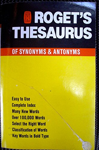 9780862881627: The Greenwich Roget's Thesaurus
