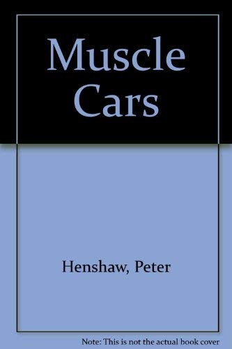 9780862886882: Muscle Cars