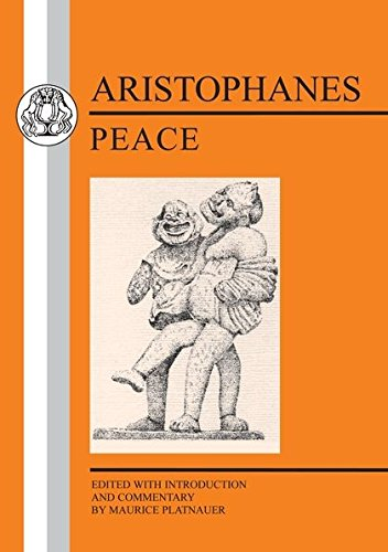 9780862920012: Aristophanes: Peace (Greek Texts)