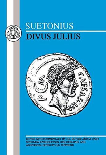 9780862920265: Suetonius: Divus Julius (Latin Texts)