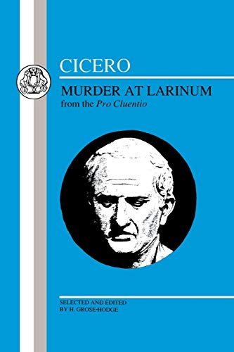 9780862920937: Cicero: Murder at Larinum: Selections from the Pro Cluentio (Latin Texts)
