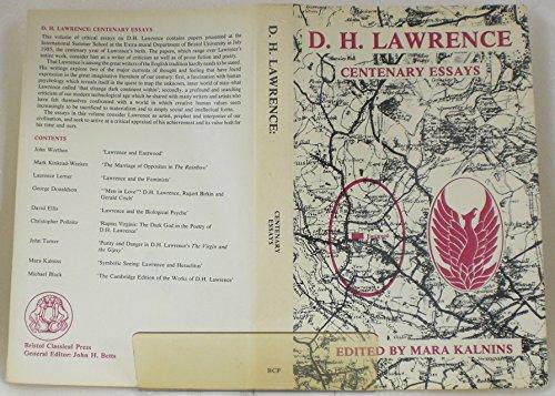 9780862921811: D.H.Lawrence: Centenary Essays