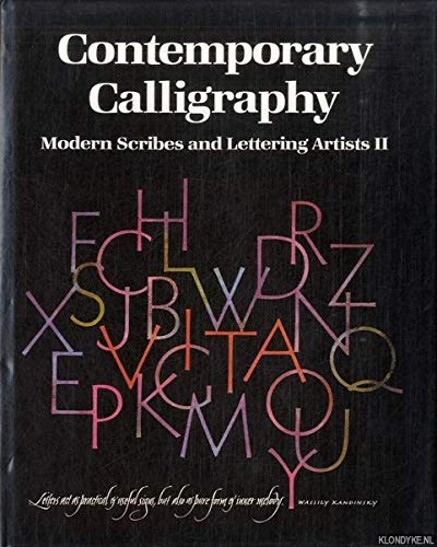 9780862940720: Contemporary Calligraphy: Modern Scribes and Lettering Artists, Vol. 2
