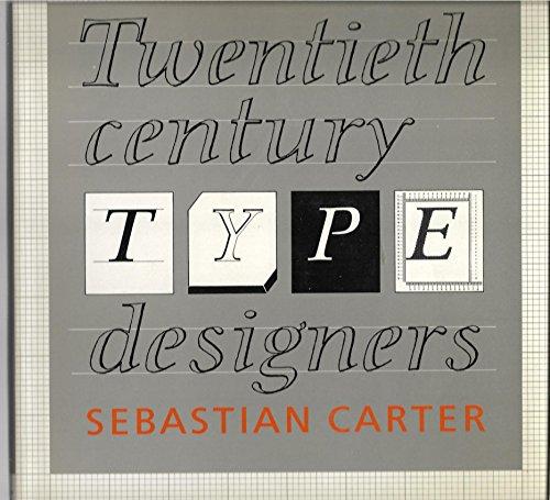9780862940768: Twentieth Century Type Designers (Trefoil design library)