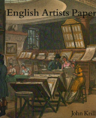 9780862940935: English Artists' Paper