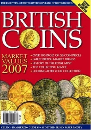 9780862962647: British Coins Market Values 2007