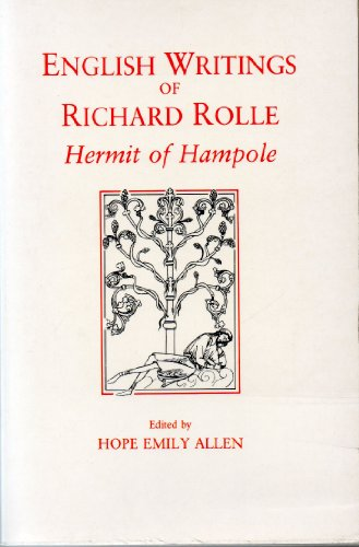 9780862995065: English Writings of Richard Rolle, Hermit of Hampole