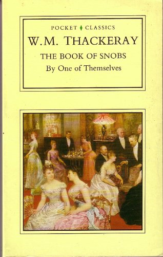 9780862996369: Book of Snobs (Pocket Classics)