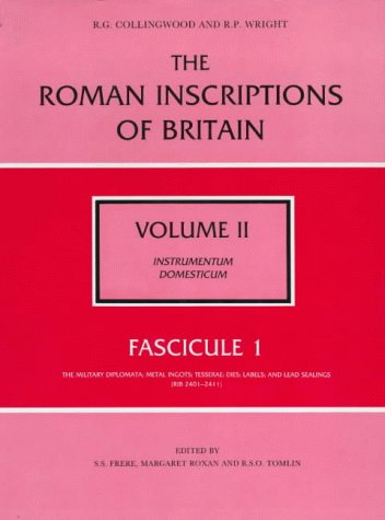 The Roman Inscriptions of Britain Vol II: Frere, S. S.