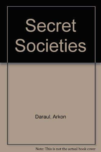 9780863040245: A History of Secret Societies