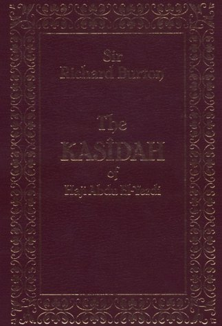9780863040610: The Kasidah of Haji Abdu El-Yezdi