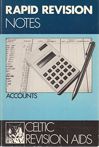 9780863050497: Accounts: Ordinary Level (Rapid Revision Notes)