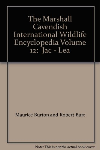 9780863077722: The Marshall Cavendish International Wildlife Encyclopedia Volume 12: Jac - Lea