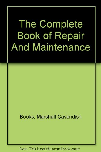 9780863079139: The Complete Book of Repair And Maintenance
