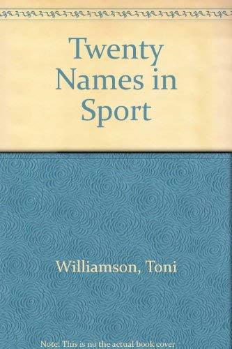 9780863079689: Twenty Names in Sport