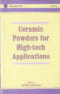 9780863115608: Ceramic Powders for High-tech Applications