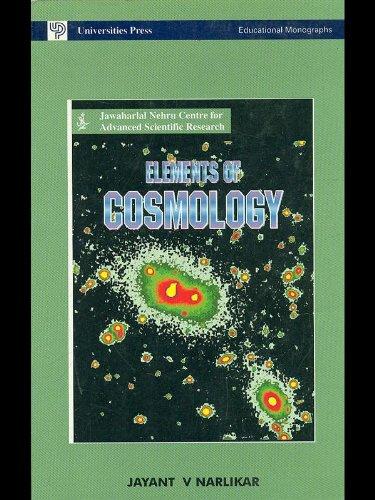9780863116902: Elements of Cosmology (Educational monographs)