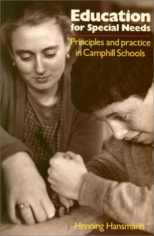 9780863151385: Education for Special Needs: Principles and Practice in Camphill Schools