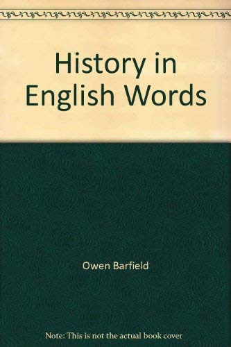 9780863155086: History in English Words