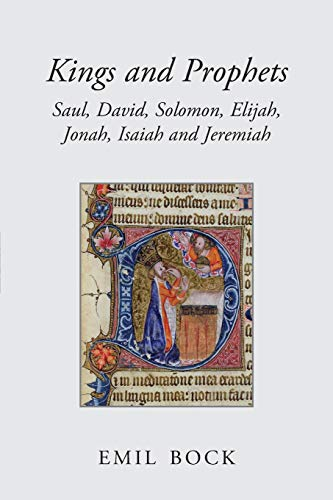 9780863155734: Kings and Prophets: Saul, David, Solomon, Elijah, Jonah, Isaiah and Jeremiah