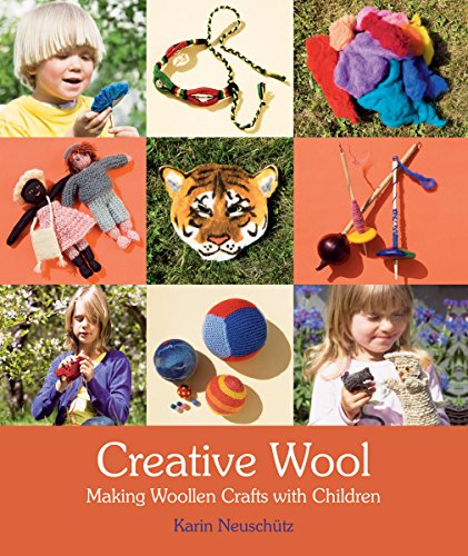 9780863158001: Creative Wool: Making Woolen Crafts with Children