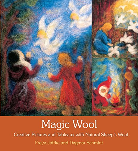 9780863158292: Magic Wool: Creative Pictures and Tableaux with Natural Sheep's Wool