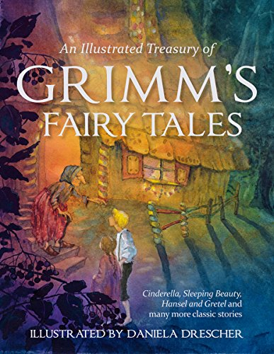 9780863159473: An Illustrated Treasury of Grimm's Fairy Tales