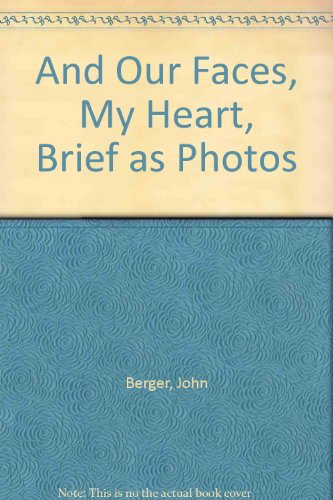9780863160738: And Our Faces, My Heart, Brief as Photos
