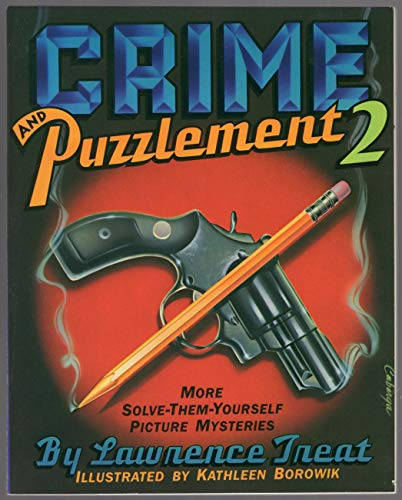 9780863180057: Crime and Puzzlement: 24 Solve-them-yourself Picture Mysteries