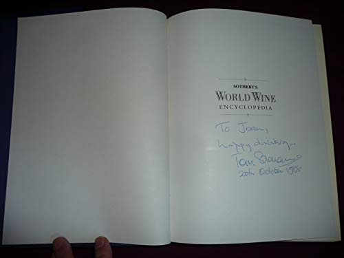 9780863182389: Sotheby's World Wine Encyclopedia: A Comprehensive Reference Guide to the Wines of the World