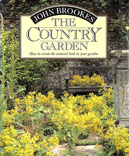 Country Garden Book - FIRST PRINTING: Brookes, John
