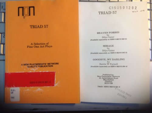 Triad: No. 57 (A New Playwrights' Network Quality Publication): Various