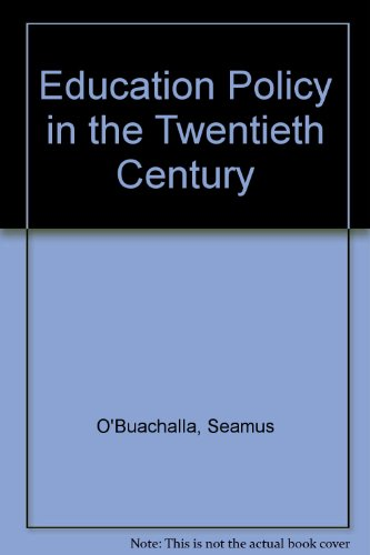 9780863272554: Education Policy in Twentieth Century Ireland (Topics in Modern Irish History)