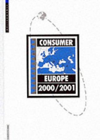 Consumer Europe 2000/2001 (Hardback): Euromonitor PLC