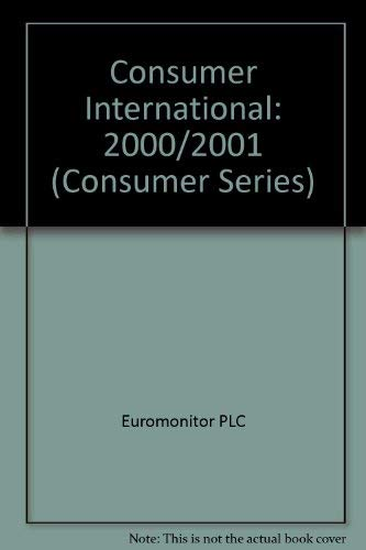 9780863389641: Consumer International 2000/2001 (Consumer Series)