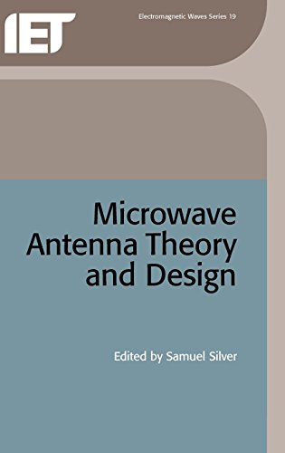 9780863410178: Microwave Antenna Theory and Design (IEEE Electromagnetic Waves Series)