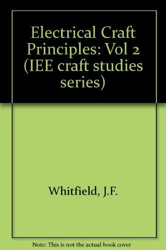 9780863411540: Electrical Craft Principles-- 3rd ed. vol. 2