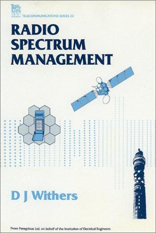 9780863411779: Radio Spectrum Management (I E E TELECOMMUNICATIONS SERIES)