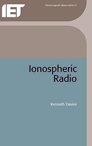 9780863411861: Ionospheric Radio (Electromagnetics and Radar)