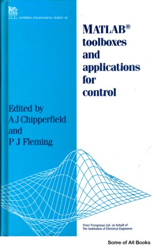 9780863412905: Matlab Toolboxes and Applications for Control (I E E CONTROL ENGINEERING SERIES)