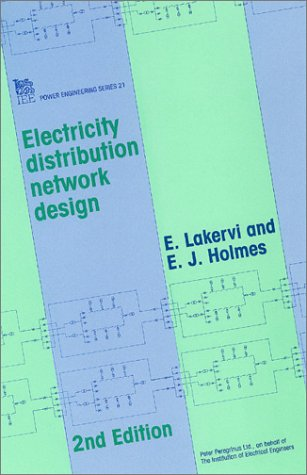 9780863413087: Electricity Distribution Network Design (Energy Engineering)