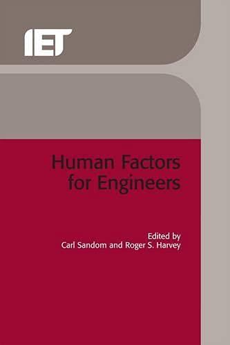 9780863413292: Human Factors for Engineers