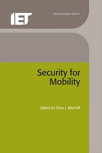 9780863413377: Security for Mobility (Telecommunications)