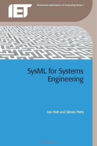 9780863418259: SysML for Systems Engineering (Professional Applications of Computing)