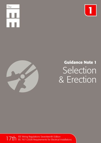 9780863418556: Guidance Note 1: Selection & Erection
