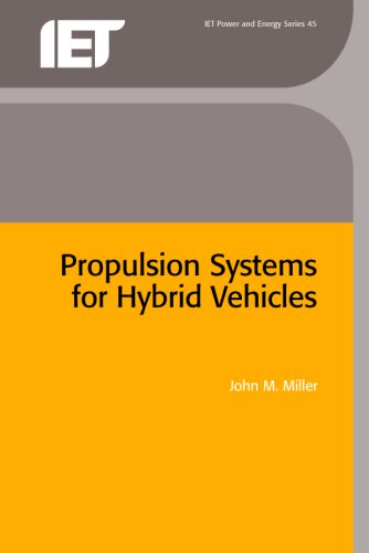 9780863419157: Propulsion Systems for Hybrid Vehicles (Iet Power and Energy)