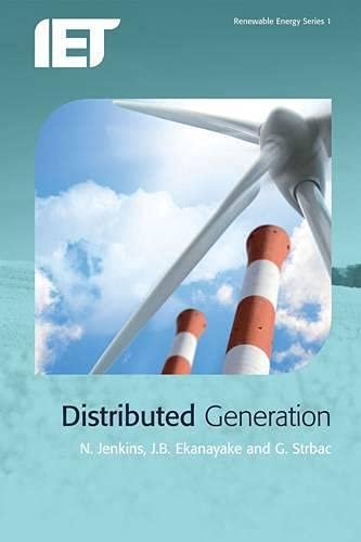9780863419584: Distributed Generation (Renewable Energy)