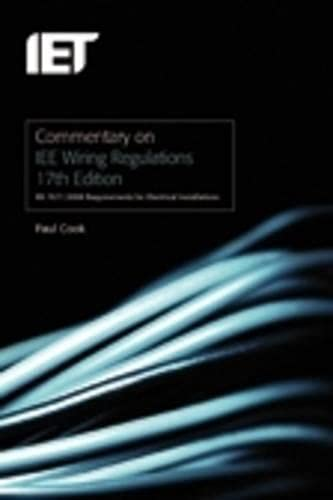 9780863419669: Commentary on IEE Wiring Regulations: (BS 7671:2008) (Institution of Engineer/Techno): 17